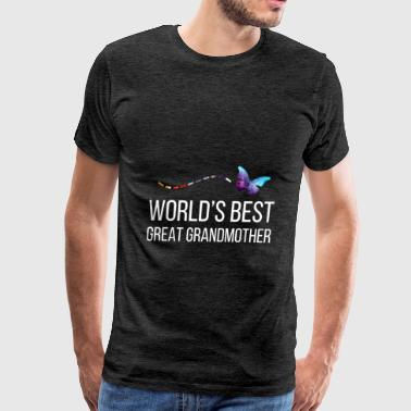 Great Grandmother - World's best great grandmother - Men's Premium T-Shirt