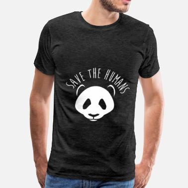 Human Rights Humans - Save the humans - Men's Premium T-Shirt