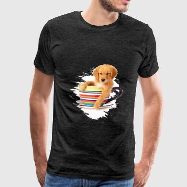 Golden Retriever - Golden Retriever - Men's Premium T-Shirt