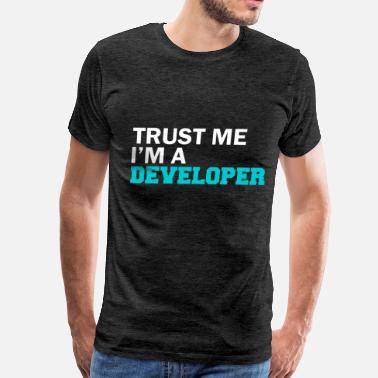 Developer Art Developer - Trust me I'm a developer - Men's Premium T-Shirt