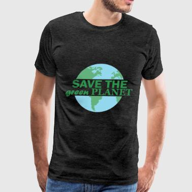 Planet - Save the green planet - Men's Premium T-Shirt