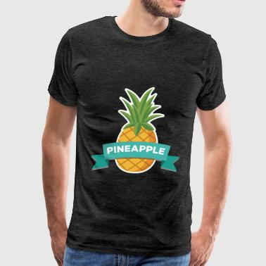 Breast Pineapple Pineapple - Pineapple - Men's Premium T-Shirt