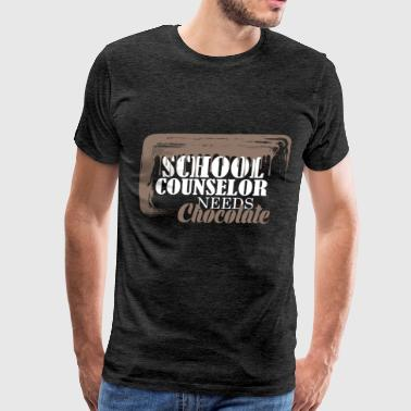 School Counselor  - School Counselor  needs  - Men's Premium T-Shirt