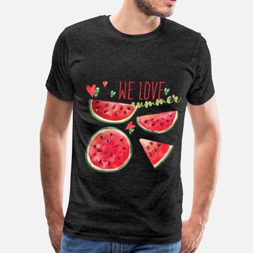 1aa0b8732a8 Summer - We love summer Men s Premium T-Shirt