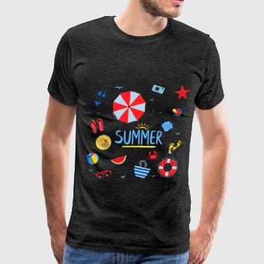 Summer - Summer - Men's Premium T-Shirt