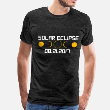 Solar Eclipse Art Solar Eclipse August 2017 - Solar Eclipse - 08.21. - Men's Premium T-Shirt