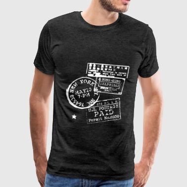 Stamp collecting - Stamp collecting - Men's Premium T-Shirt