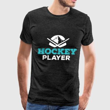 Hockey Player - Hockey Player - Men's Premium T-Shirt
