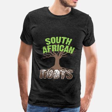 Proudly South African - South African Roots - Men's Premium T-Shirt