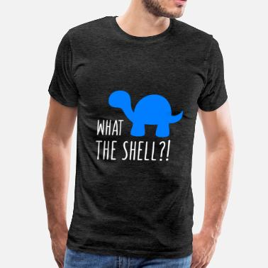 Turtle Shell Turtle - What the shell - Men's Premium T-Shirt