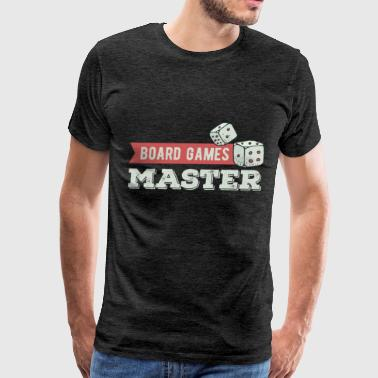 Board Games - Board Games Master - Men's Premium T-Shirt