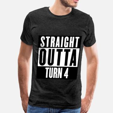 Turning Four TURN 4 - Men's Premium T-Shirt