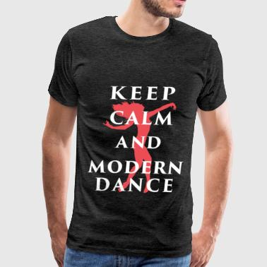 Modern Dance - Keep calm and modern dance - Men's Premium T-Shirt