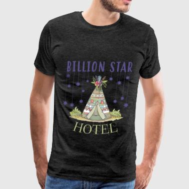 Hotel - Billion star hotel - Men's Premium T-Shirt