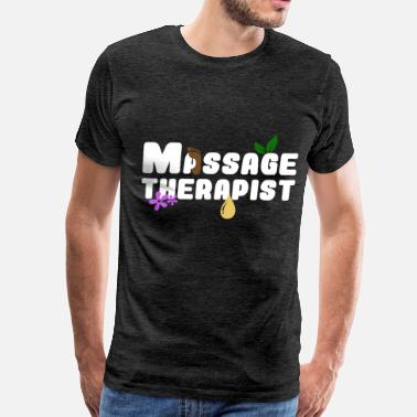 Wife Massage Therapist Massage therapist - Massage therapist - Men's Premium T-Shirt