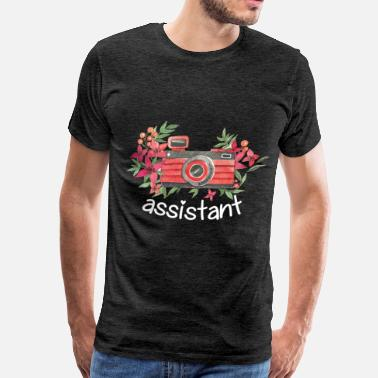 Photographers Photographer assistant - Assistant - Men's Premium T-Shirt