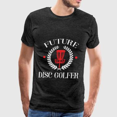 Disc golfer - Future Disc golfer - Men's Premium T-Shirt