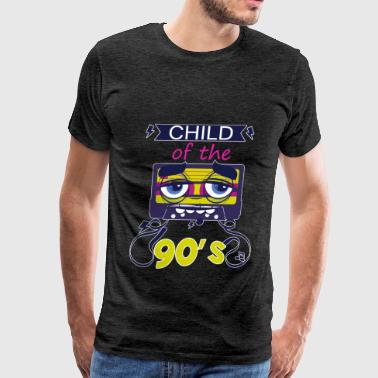 T-90 90's - Child of the 90's - Men's Premium T-Shirt