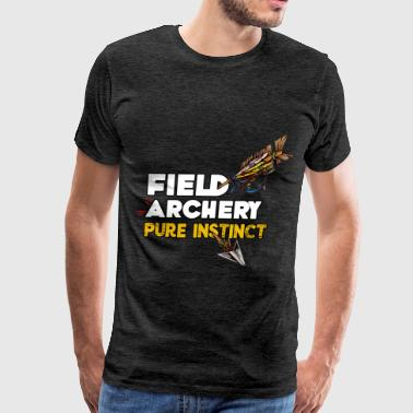 Field archery - Field archery pure instinct - Men's Premium T-Shirt