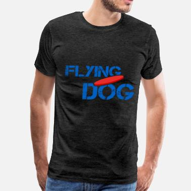 Flying Dog Disc dog - Flying dog - Men's Premium T-Shirt