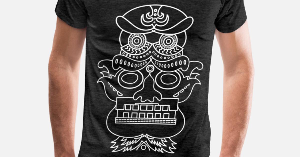 351efec9e4cf skeleton Men's Premium T-Shirt | Spreadshirt