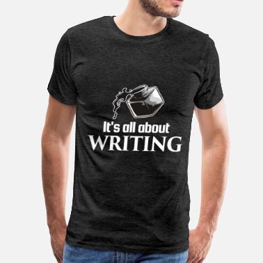 Korean Writing For Writing - It's all about writing - Men's Premium T-Shirt