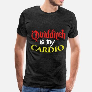 Quidditch Quidditch - Quidditch is my cardio - Men's Premium T-Shirt