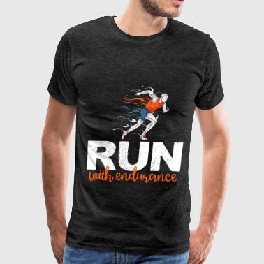 Endurance - Run with endurance - Men's Premium T-Shirt