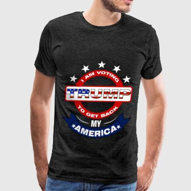 Trump clothes, Trump tshirt, Trump gift, Trump  - Men's Premium T-Shirt