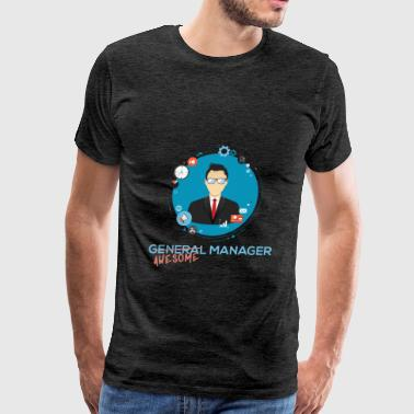 General Manager - (General) Awesome Manager - Men's Premium T-Shirt