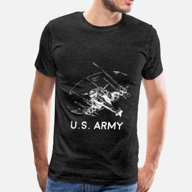 U.s. Army Army Helicopter - U.S. Army - Men's Premium T-Shirt