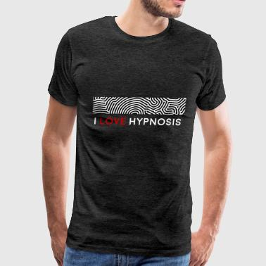 Hypnosis - I love hypnosis - Men's Premium T-Shirt