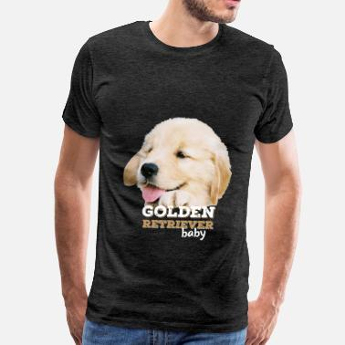 Golden Retriever Clothes Golden retriever - Golden retriever baby - Men's Premium T-Shirt