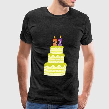 21st Birthday - 21st Birthday - Men's Premium T-Shirt