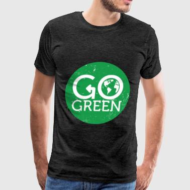 Green energy - Go green - Men's Premium T-Shirt
