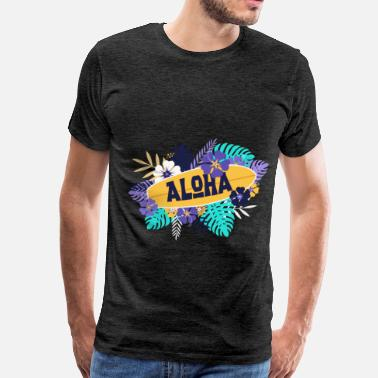 Aloha Summer - Aloha - Men's Premium T-Shirt