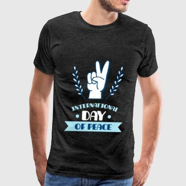 Peace - International day of peace - Men's Premium T-Shirt