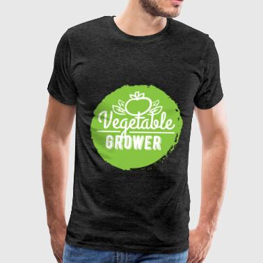 Growers Vegetable Grower - Vegetable Grower - Men's Premium T-Shirt