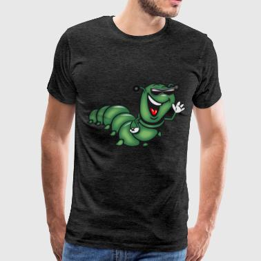 caterpillar hat funny - Men's Premium T-Shirt