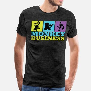 Monkey Business Monkey Business - Men's Premium T-Shirt