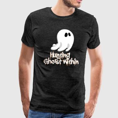 Kids Hunting Ghost Hunting Day - Halloween Ghost - Men's Premium T-Shirt