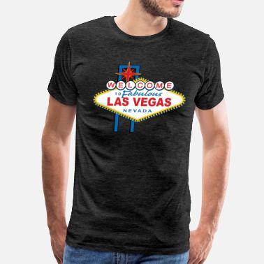 Welcome To Las Vegas Welcome-to-Las-Vegas-Dist - Men's Premium T-Shirt