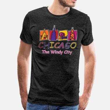 Windy City The-Windy-City-Kids - Men's Premium T-Shirt
