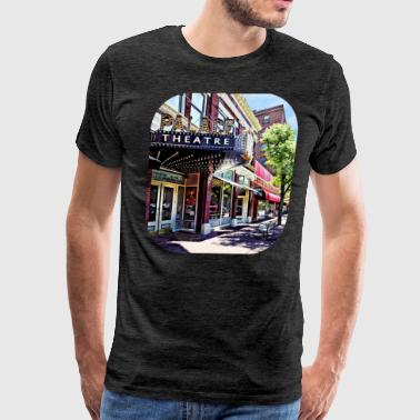 Corning NY - Movie Theatre - Men's Premium T-Shirt