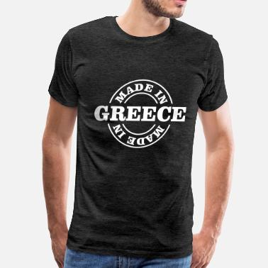 Funny Greece Made In Greece - Men's Premium T-Shirt