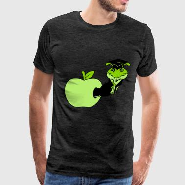 hunger apple eating hole delicious hole testimony  - Men's Premium T-Shirt