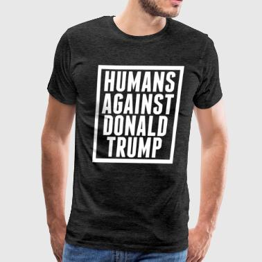Humans Against Trump - Men's Premium T-Shirt