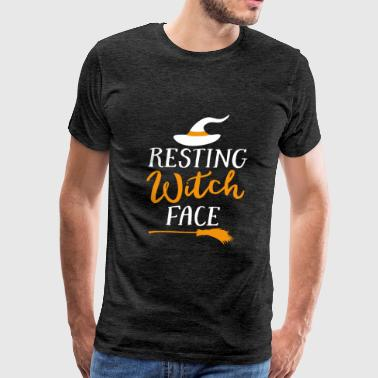 Scarlet Resting Witch Face Hilarious Pun t-shirt - Men's Premium T-Shirt