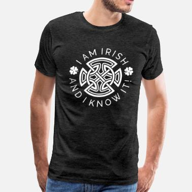 South Side Irish Irish and I Know It - Irish Ornament - Men's Premium T-Shirt