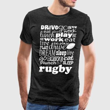 Rugby Gift Team Coach - Men's Premium T-Shirt
